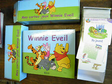 Winnie Eveil mes cartes jeux Winnie Eveil / Winnie l'ourson  éditions Atlas