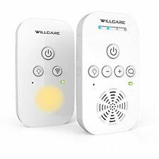 Willcare Portable Digital Audio Baby Monitor Two-Way Talking HD Sound Listening
