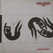"Gino Soccio - Human Nature Remix (12"" Quality-Records Maxi-Single Germany 1985)"