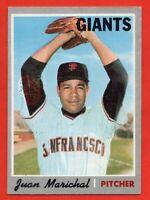 1970 Topps #210 Juan Marichal EX-EXMINT PD HOF San Francisco Giants FREE SHIP