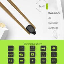 Invisible Mini Wireless Bluetooth Earbuds Universal Sports Handfree Headphones