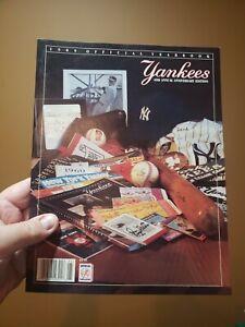 New York Yankees 1989 Yearbook