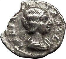 Julia Maesa Elagbalus Grandmother Silver Ancient Roman Coin Good luck  i46421