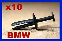 For BMW 10 wheel arch mudguard flap fastener clip push type rivet E46