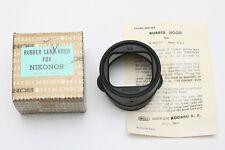 Rubber lens hood for Nikonos Nikonos camera / W-Nikkor 35mm lens