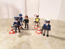 Playmobil 5 Figuren - Polizei Police Policía Grenzkontrollen Frankreich City