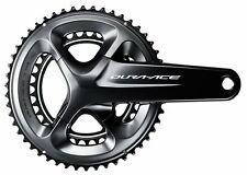 Shimano 2017 FC-R9100 Dura-Ace 2x11 Speed Road Bike Crankset - 39/53 x 165mm