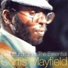 Curtis Mayfield Brother The Essential - 15 Track Best of CD Superfly