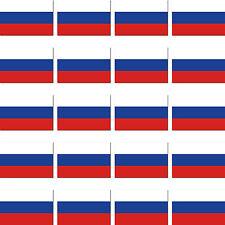 20 Stück Russland Russische Föderation Fahne Flagge Modellbau Sticker Aufkleber