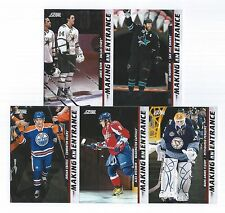 2011-12 Score Making An Entrance Complete 10 Card Insert Set