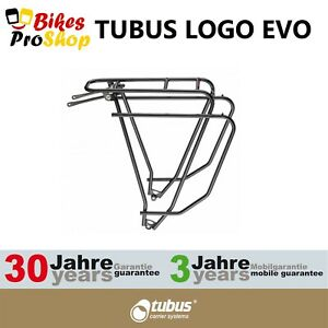 TUBUS Logo EVO Schwarz Bike Bicycle Rear Rack 2021