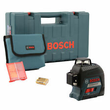 Bosch líneas láser GLl 3-80 Professional con funda protectora en el maletín de artesanos