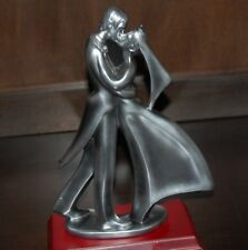 """HERCO GIFT PROFFESSIONAL BRIDE AND GRROM FIGURINE 12"""" TALL USED"""