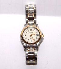 CITIZEN Womens Quartz Two Tone MR50 Watch W.R. 5BAR NWOT