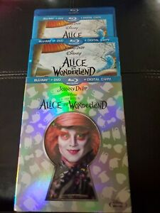 Alice in Wonderland (Blu-ray/DVDw/ Collectible Character Cards and Slipcover