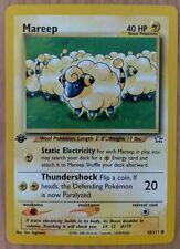 Pokemon Neo Genesis 1st Edition Common Card #65/111 Mareep