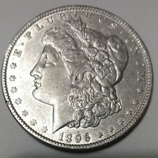 1896-O MORGAN SILVER DOLLAR AU CONDITION **BEAUTIFUL COIN**FREE SHIPPING**