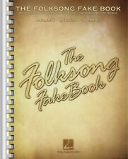 The Folksong Fake Book Sheet Music C Edition Real Book Fake Book NEW 000240151