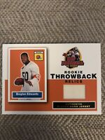 2005 Topps Rookie Throwback Jerseys Football Card Card #RTBE Braylon Edwards