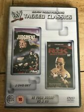 WWE Tagged Classics In Your House 25 & 26 DVD (2 Disc Set) WWF RARE