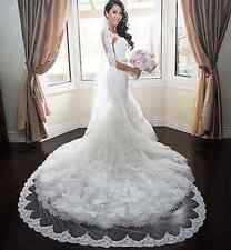 Charming-One-Tier-Bridal-Cathedral-Wedding-Veil- ivory