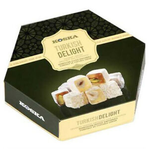 Koska 250 G Coconut Covered Turkish Delight With Hazelnut