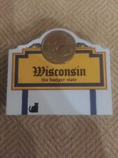 Cat's Meow State Quarter Collection, Wisconsin Coin Holder, #04-05