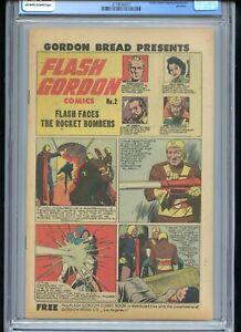 Gordon Bread Giveaway #2 CGC 9.2 OWTW Pages Flash Gordon