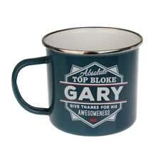 Top Bloke Gary Tin Mug NEW Indoors Outdoors Camping Fishing 43