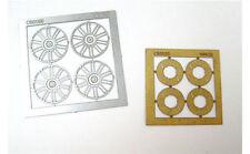 NINCO 80732 Set 4 cerchioni + 4 dischi freno in fotoincisione scala 1/32