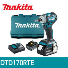 Makita DTD170RTE Impact Driver 18V 2x5.0Ah BL DC18RC Hard Case UPS Charger_220V