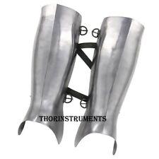Medieval Armour Greek Hoplite Greaves 16g Functional Leg Guard