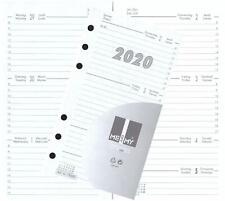 Kalendereinlage Kalender 2020 A6 für Timer Terminer Zeitplaner 1 Woche=2 Seiten