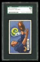 1951 Bowman #114 Jerry Williams Los Angeles Rams SGC 84 / 7 NM
