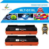 2PK Toner Cartridge for Samsung MLT-D116L Xpress M2835DW M2885FW M2625D M2875FD