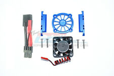 Traxxas-Maxx-ALUMINUM MOTOR HEATSINK WITH COOLING FAN -9PC Set-Blue