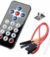 H001 Arduino Infrarossi wireless Controllo Remoto kit (black)