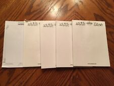 Lot of 5 Cranium Board Game Replacement Paper Writing Pads