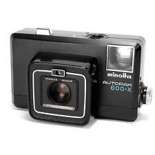 Minolta Autopak 600-X  Vintage 1970's Retro 126 Cartridge Film Camera