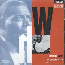 The Chess Collection: The Genuine Article by Howlin' Wolf (CD, 1997 Folio) New!