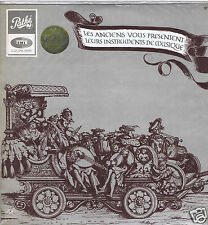 LP+LIVRET ROGER COTTE  INSTRUMENTS DE MUSIQUE ANCIENS