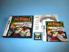Inuyasha Secret of the Divine Jewel Nintendo DS Lite DSi XL 3DS w/Case & Manual