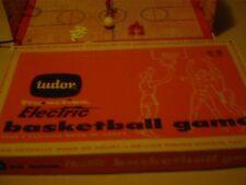 Vintage 1960 Tudor Tru Action Electric Basketball Game