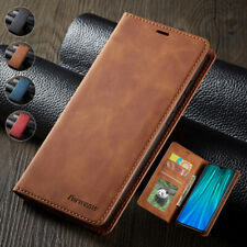 For Xiaomi Redmi Note 7 8 9 Pro Max Leather Wallet Case Card Magnetic Flip Cover