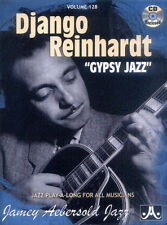 Jamey Aebersold Jazz Play-Along 128 Django Reinhardt Gypsy Jazz Noten mit CD