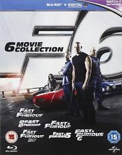 Fast and Furious: 6 Movie Collection (Blu-ray - Boxset)