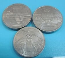 lot of 3 commemorative coins coins 5 rubles and 3 rubles 100 % original