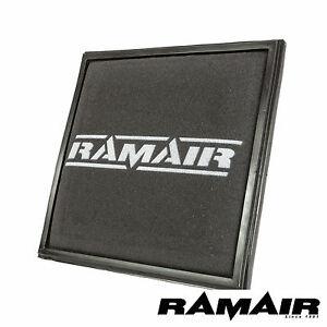 Ramair Replacement Foam Panel Air Filter for Vauxhall Astra J VXR GTC Opel Cruze