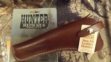 NOS Hunter sz 10 Holster Colt Frontier Peacemaker Ruger Blackhawk Revolver LH