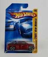 Hot Wheels Chevy Silverado 2007 New Models #K6152 NEW  Red/Orange 1:64